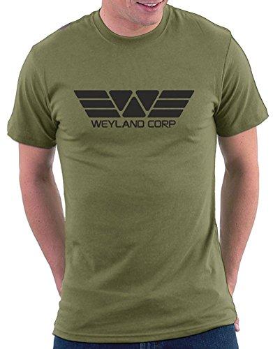 Weyland Corp T-shirt Khaki