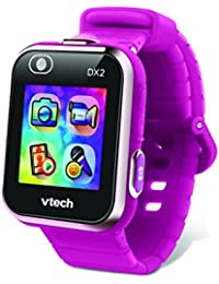 VTech - Kidizoom Smartwatch Connect DX2 Framboise Reloj, Color Frambuesa (193845)