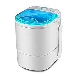 Aiwer Laveuse à Linge et Machine à sécher Le Linge Portable Machine à Laver Mini Machine à Laver Petite pour Les Appartements Collège dortoir