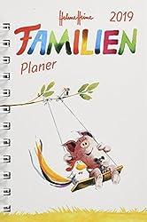 Helme Heine Familienplaner Buch A6 - Kalender 2019