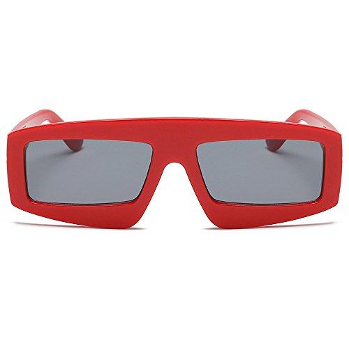 YEZIJIN Unisex Sonnenbrille, modisch, mit UV-Strahlen Free Size B