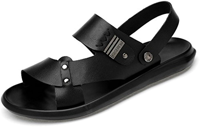 Xujw--scarpe 2018 Sandali da Uomo, Pantofole da Spiaggia Casual in Morbida Pelle Traspirante Antiscivolo per Uomo...   Primo nella sua classe    Sig/Sig Ra Scarpa