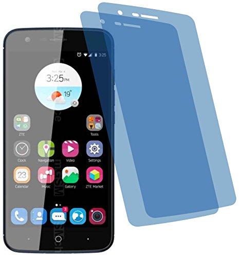 4ProTec 2X Crystal Clear klar Schutzfolie für ZTE Blade V8 Lite Bildschirmschutzfolie Displayschutzfolie Schutzhülle Bildschirmschutz Bildschirmfolie Folie