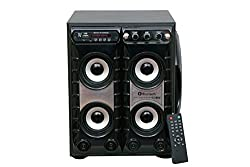 Barry John Bazooka Tower 7500W PMPO with FM, Bluetooth, USB and Aux