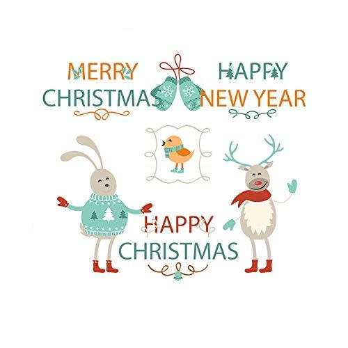 Vinilos decorativos de Navidad y Año Nuevo