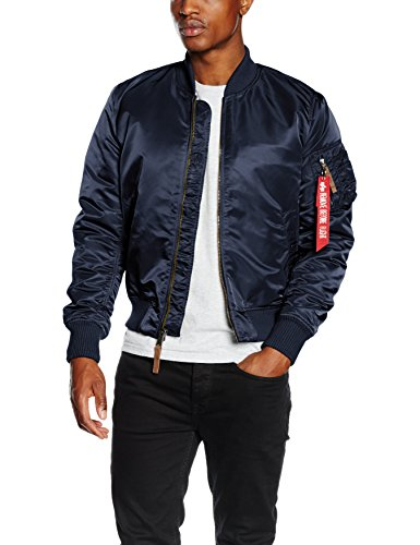Alpha Industries Herren Jacke MA-1 VF 59, Blau (Rep.Blue 07), X-Large