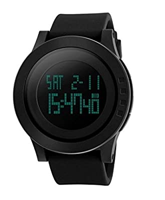 Skmei S-Shock digital black Dial Men's Watch