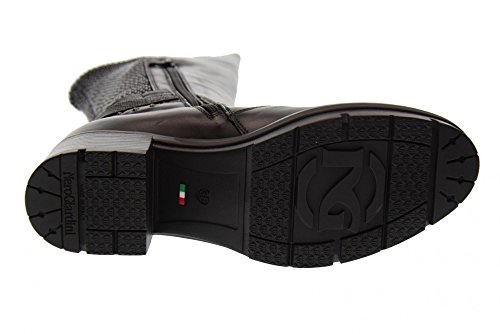 Nero Giardini Chaussures Femme Bottes Avec Talon A719923d / 100 Noir