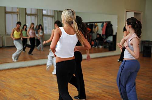 Tanzspiegel Spiegelwand Für Fitness Und Ballett Sport Premium Glas 125 x 200 cm