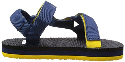 Teva Original Universal C's Unisex-Kinder Sport- & Outdoor Sandalen Blau (965 navy/yellow)