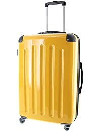 Pianeta Berlin Gr. L - ABS Polykarbonat Mix Hartschalen Koffer Trolley mit 4 Rollen und TSA Zahlenschloss, erweiterbar, 5 Farben