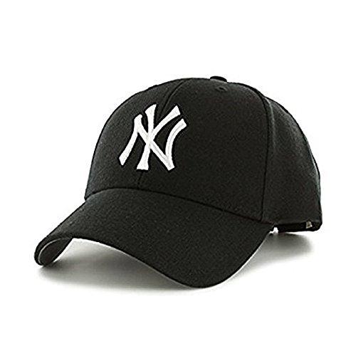 MoohMaya?? Unisex Cotton Baseball Cap(Black, Free Size)