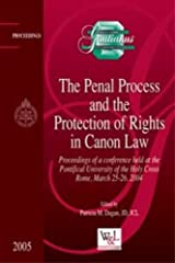 The Penal Process and the Protection of Rights in Canon Law (Gratianus) Hardcover