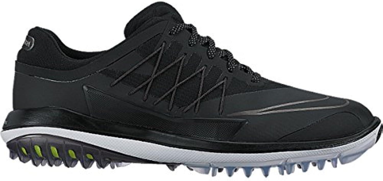 Nike Lunar Control Vapor (Wide) - Zapatillas Deportivas de Golf para Hombre, Color Negro/Gris, Talla 46