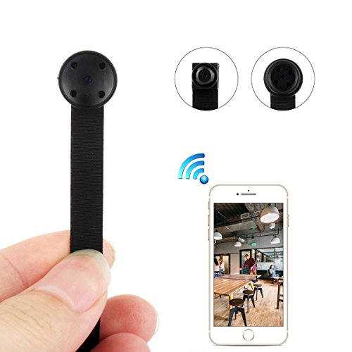 Spy Camera, PANNOVO 720P Hidden Camera WIFI Mini Camera Wireless Nanny Cam with Motion Detection