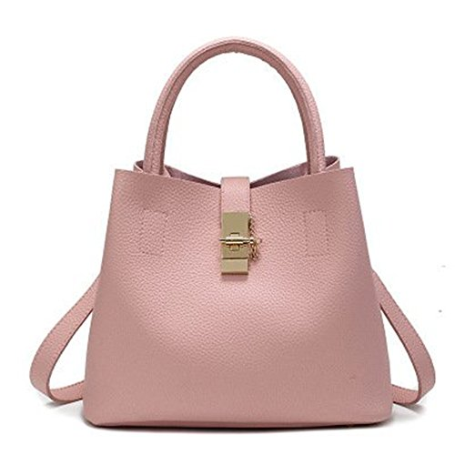 Borsa A Tracolla Meoaeo Nuova Borsa Madre Femminile All-match Buns Easy Shoulder Messenger, Gules Pink