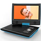 "ieGeek 11"" Portable DVD Player with Swivel Higher Brightness Screen, 5 Hours Rechargeable"