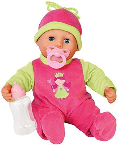Bayer Design 9380600 - Funktionspuppe First Words Baby mit Fläschchen und Schnuller, 24 Ba Preisvergleich