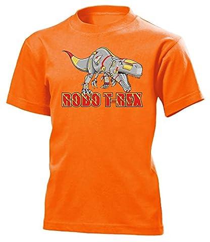 DINOSAURIER - ROBO T-REX 5176(K-ORA) Gr.128 (Orange Triceratops Kostüm)