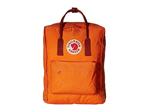 Fjällräven Unisex - Kinder Schulrucksack Kånken, burnt orange-deep red, 38 x 27 x 13 cm, 16 Liter, 23510-212-325
