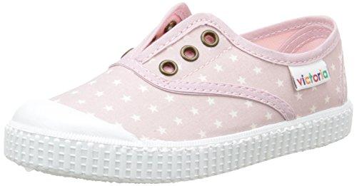 Victoria - Inglesa Estrellas Elast., Scarpe da ginnastica Unisex – Bambini Rose (42 Rosa)