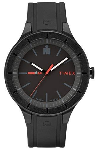 Timex Orologio Analogico Quarzo Uomo con Cinturino in Silicone TW5M16800