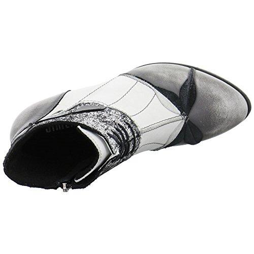 Simen Damen Schnür-Stiefeletten Grau