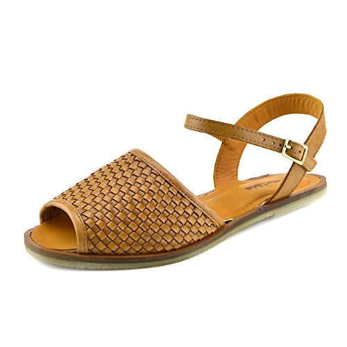 Kick Footwear - Damen Mode Sommer Casual Sandalen Classic Schuhe Tan