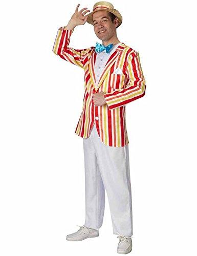 Rubie's Bert-Kostüm für Erwachsene, Mary Poppins, offizielles Disney-Produkt, Jolly Holiday, Größe: XL