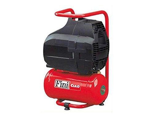 Fini 3824 FOBB304FNM003 Ciao Compressore Coassiale, Rosso, 6L