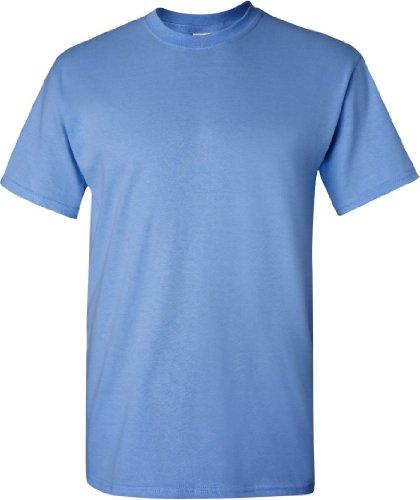 Semi-Trucks auf American Apparel Fine Jersey Shirt Blau