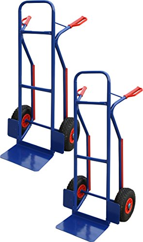 2x PRO-BAU-TEC Treppenrutsche Sackkarre Transportkarre 200kg Stapelkarre **NEU**