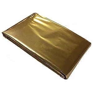 Rettungsdecke, Goldfolie 160 x 210 cm Silber/Gold