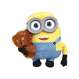"""Simba 6305873070""""Minions–Bob Figura de Peluche con Oso, 22cm"""