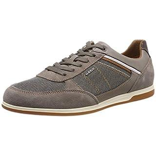 Geox Herren U Renan B Sneaker, Beige (Smoke Grey/Sand C1x5z), 40 EU