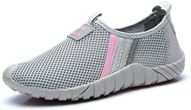 Ancianos Deportes Zapatos atléticos Malla de primavera Confort transpirable Calzado deportivo Calzado deportivo...