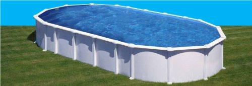 Piscina gre dream pool haiti acero blanca 9,15 x 4,70 x 1,32m KITPROV9188