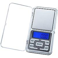 Wildlead Mini Precision Digital Electrónica Báscula portátil Peso LCD gramos joyas Cocina Herramientas, ...