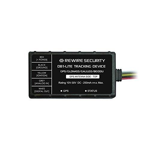 GPS-Tracker echtem Rewire Sicherheit DB1Lite GLONASS/GSM Auto Motorrad Fahrzeug Tracking Telematik Gerät (Motorrad Gps Security)