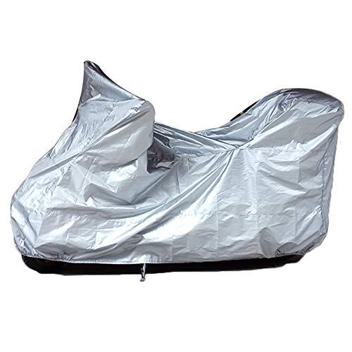 YANZHEN Copertura Mobili Giardino Abbigliamento da Moto Giubbino Antivento Impermeabile 210D Oxford, 3 Colori (Colore : A, Dimensioni : 208x85x120cm)