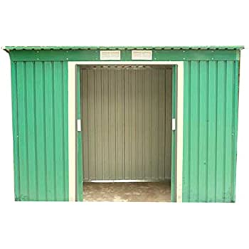 Dirty Pro Tools METAL GARDEN SHED 8 X 4 With Base