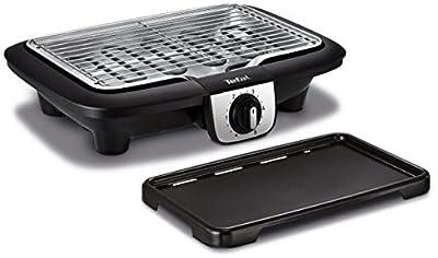 Tefal Elektrogrill, multifunktional, Easy Grill, 2-in-1, für Bbq Grill und Plancha, Verwendung im Innen- und Außenbereich, 2100 W