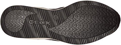 Geox D OMAYA A Damen Sneakers Schwarz (Blackc9999)