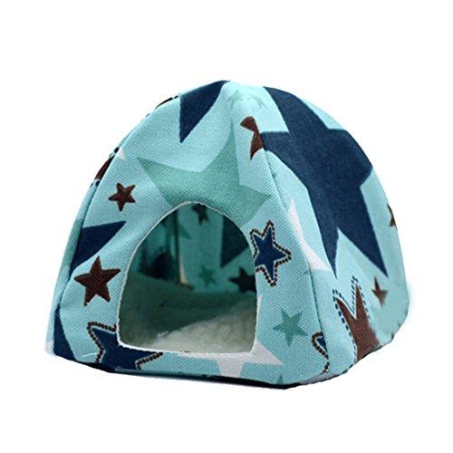 Pet faltbare Zelt Haus mit abnehmbarem Bett für Zwerg Hamster