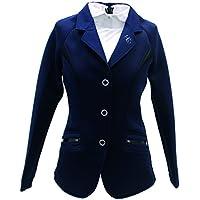 Horseware - Chaqueta de competición para Mujer, Talla XS, Color Azul Marino