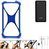 K-S-Trade Mobile Phone Bumper compatible with Mobistel