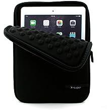X-supe Funda para iPad Pro 10.5 versión 2017 a prueba de golpes, con bolsillos para accesorios, de neopreno