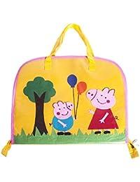 9841729e193 Li ll Pumpkins Kid s Felt and Plastic Peppa Pig Drawing Bag, 13.5x18x4-