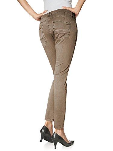 MCA - Jeans spécial grossesse - Femme Beige - Camel