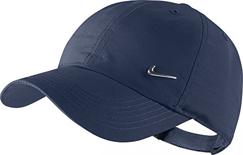 Nike METAL SWOOSH CAP DARK OBSIDIAN/METALLIC SILVER, Größe Nike:MISC - Nike Womens Golf Apparel